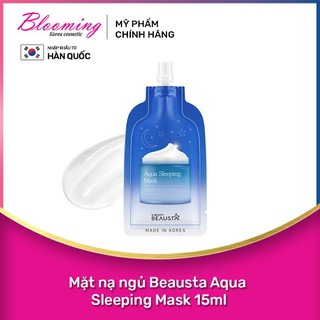 Mặt nạ ngủ Beausta Aqua Sleeping Mask 15ml - 8809577460796 thumbnail
