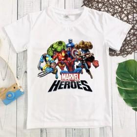 Áo thun siêu anh hùng bé trai - MM085_SAH