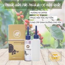 Thuốc uốn tóc Keratin Perm hương caffee Hàn Quốc