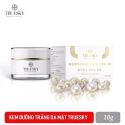 Kem dưỡng trắng da mặt Truesky chiết xuất ngọc trai 10g - Whitening Face Cream