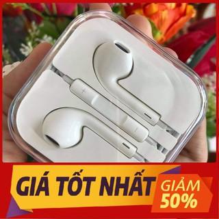 Tai nghe iphone 6 6s Zin jack 3.5mm dùng cho các dòng điện thoại và máy tính bảng có cổng tròn 3.5mm - Bảo hành 12 tháng lỗi 1 đổi 1 - taingheip6s thumbnail