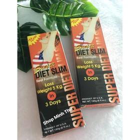 Combo 6 Kem tan mỡ Super Diet Slim - Slim
