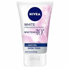 Sữa Rửa Mặt Sạch Sâu và Trắng da Nivea 100g - SRMN90