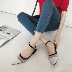 Giày Sandal Nữ Đế Bệt - Giày Xăng Đan Nữ Đế Bệt - SDNU-09
