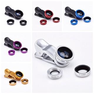 Bộ lens 3 in 1 chụp hình dành cho tất cả điện thoại - Bộ lens 3 in 1 chụp hình dành cho tất cả điện thumbnail