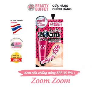 Kem nền siêu mịn Beauty Buffet Zoom Zoom SPF 35 PA++ gói 7g - 8856153194774 thumbnail
