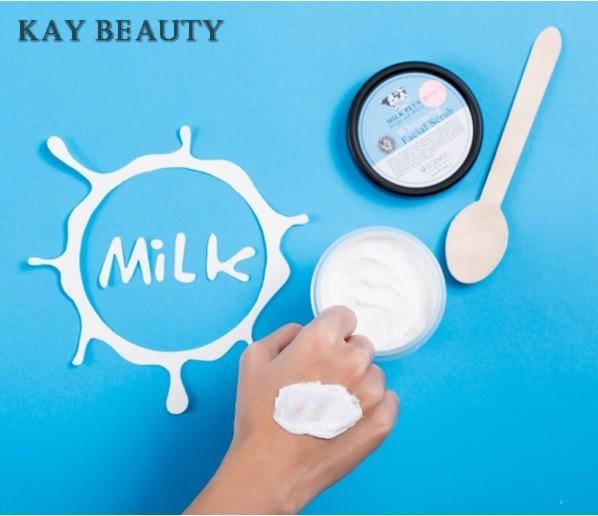 Tẩy tế bào chết da mặt trắng và trẻ hoá da Scentio Milk Plus 100ml - TAYTBCMP100ML 10