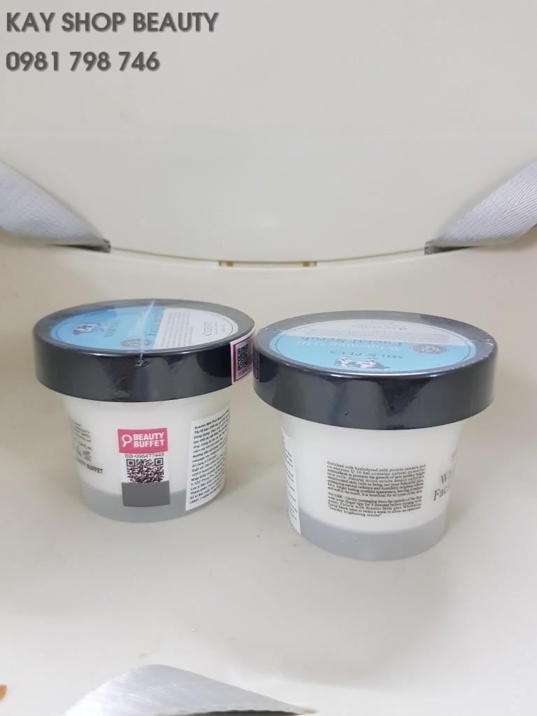 Tẩy tế bào chết da mặt trắng và trẻ hoá da Scentio Milk Plus 100ml - TAYTBCMP100ML 1