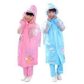 Aó mưa cho bé thiết kế mang cặp balo phía sau lưng CGD4096 - OK0026