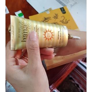 Kem chống nắng cao cấp Riori Hana Whitening UV Sun Block Cream - 044 8