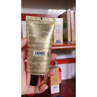 Kem chống nắng cao cấp Riori Hana Whitening UV Sun Block Cream - 044 4