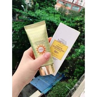 Kem chống nắng cao cấp Riori Hana Whitening UV Sun Block Cream - 044 7