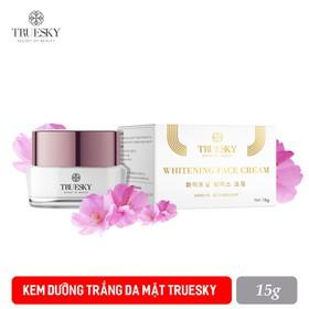Kem dưỡng trắng da mặt cao cấp Truesky nắp tím chính hãng 15g - Whitening Face Cream - KEM FACE NẮP TÍM 15G