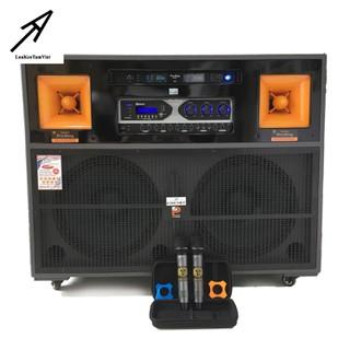 LOA ĐIỆN bass 4 tấc đôi PROSING J97 karaoke cao cấp - J97 thumbnail