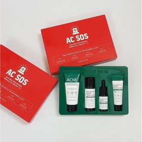 Bộ Kit 4 Món Cho Da Mụn Some By Mi AHA-BHA-PHA 30 Days Miracle AC Sos Kit - some by mi.kit - JSBM-SOS4