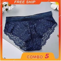 COMBO 5 QUẦN LÓT NỮ