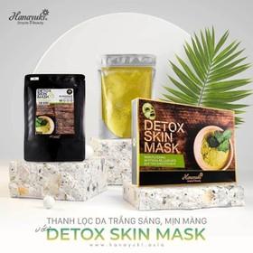 Hanayuki Date 2022-Mặt nạ thải độc da và body Detox Skin Mask 150gr (HANAYUKI) - Mặt nạ thải độc da Detox Skin Mask Hanayuki