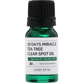 Tinh Dầu Tràm Trà Trị Mụn Some By Mi 30 Days Miracle Tea Tree Clear Spot Oil 10ml - serum some by mi - JSBM-SO10