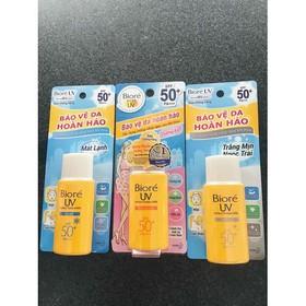 Kem chống nắng Biore UV Perfect protect milk spf 50 - bvbvv