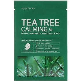 Mặt nạ tràm trà cấp ẩm trị mụn Some By Mi Tea Tree Calming Sheet Mask - mặt nạ some by mi - JSBM-MASK25