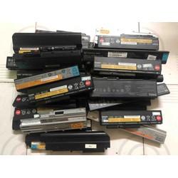 Pin laptop cũ tháo máy thanh 6 cell, tháo lấy cell chế máy mài
