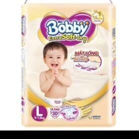 Tã dán bobby extra soft cao cấp L30 - Bobby extra