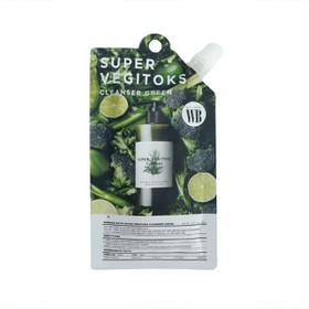 Sữa rửa mặt thải độc rau củ tẩy trang Byvibes Wonder Bath Super Vegitoks Cleanser Dạng Gói 30ML - Gói SRM rau củ 30ml