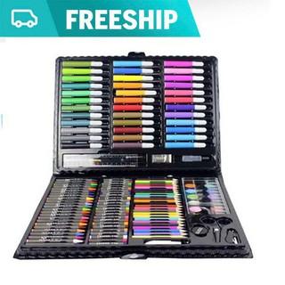 [Miễn phí vận chuyển 15K] Bộ bút chì màu 150 món cho bé yêu - bút chì màu thumbnail