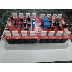 compo mạch công suất 16 sò stereo hoàn thiện