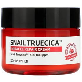 Kem Dưỡng Trị Sẹo Rỗ, Phục Hồi Da Some By Mi Snail Truecica Miracle Repair Cream 60g - some by mi cream - JSBM-SCR60