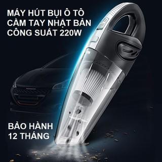 Máy Hút Bụi Ô Tô Cầm Tay Không Dây Sạc Pin Nhật Bản Shenron - máy hút bụi ô tô thumbnail
