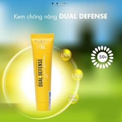 Kem chống nắng vật lý Dual Defense SPF 50 PA+++ - BẢO VỆ LÀN DA HỮU HIỆU - DÙNG CHO DA MẶT (30G)