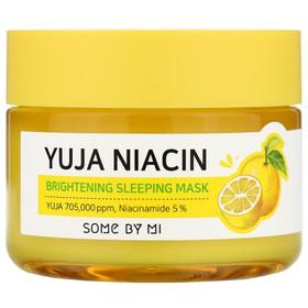 Mặt Nạ Ngủ Dưỡng Trắng Sáng Da Some By Mi Yuja Niacin 30 Days Miracle Brightening Sleeping Mask 60g - Some by mi. mặt nạ. dưỡng trắng - JSBM-YMASK60
