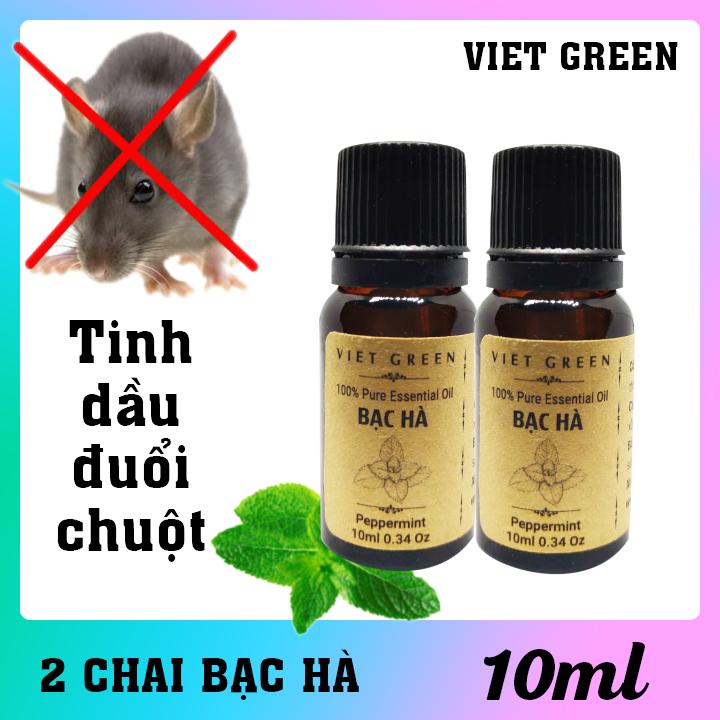 Tinh dầu đuổi chuột - Combo 2 chai 10ml - 2TDDC10 1