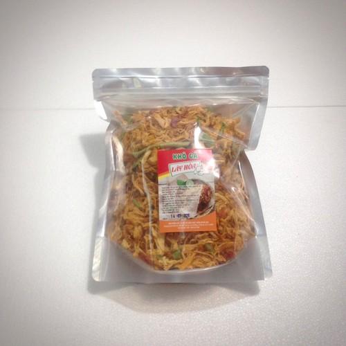 5kg khô gà lá chanh cay giòn lày hoà: 10 túi zipper 500gr sản xuất từ những nguyên liệu tươi mới đảm bảo vệ sinh attp