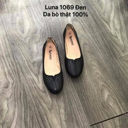 giày bệt nữ [100% da bò ] siêu êm ,bảo hành 6 tháng - giày bệt nữ -giày bệt nữ luna 1069