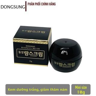 Kem Dưỡng Trắng Da Đặc m Chiết Xuất Từ g Trùng Hạ Thảo DongSung Rannce Cream 10g - Cam Kết - KD3425256 thumbnail