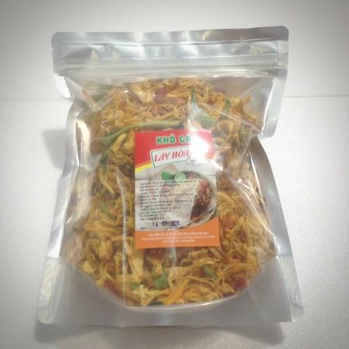 4kg khô gà lá chanh cay giòn lày hoà: 8 túi zipper 500g sản xuất từ những nguyên liệu tươi mới đảm bảo vệ sinh attp.