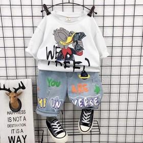 Set bé trai vịt quần jean - Set bé trai vịt quần jean