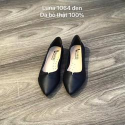 giày bệt mũi nhọn , giày bệt nữ [100% da bò ] da cao cấp , bảo hành 6 tháng