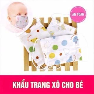 combo 10 khẩu trang xô cho bé iu - khtrang thumbnail