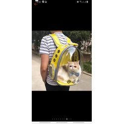 Balo trong suốt,túi vận chuyển,giỏ đựng Chó Mèo
