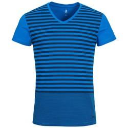 Áo thun thể thao nam Adidas NEO Basic Tee V-Neck chất liệu nhẹ thoáng mát, thấm hút tốt