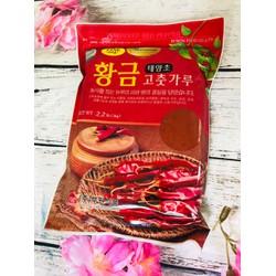 1kg ớt bột Hàn Quốc mịn Buwon hàng nhập khẩu