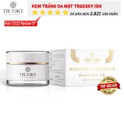 Kem dưỡng trắng da mặt Truesky chiết xuất ngọc trai hồng y dạng lotion chính hãng 10g - Whitening Face Cream