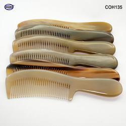 Lược sừng chuôi trơn cao cấp xuất Nhật mẫu 2020 [đủ Size] HAHANCO /Chăm sóc tóc