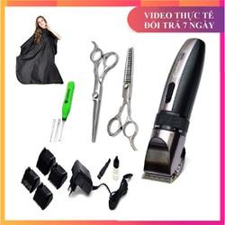 tông đơ cắt tóc codol 531 tặng kèm kéo , áo, lấy rái tai có đèn