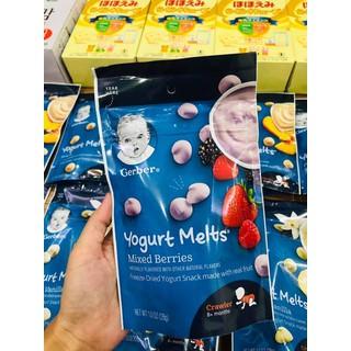 Sữa chua khô Gerber nhiều vị - Sữa chua khô Gerber thumbnail
