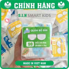 Quần bỏ bỉm 6 lớp Hàng Việt Nam cao cấp Goodmana dành cho Bé 5-17KG - Quần bỏ bỉm