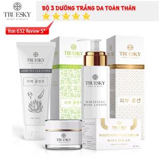 Bộ dưỡng trắng VIP04 gồm 1 sữa rửa mặt trắng da 60ml & 1 kem dưỡng trắng da mặt 10g & 1 kem dưỡng trắng toàn thân 100ml - KEM FACE 10G+ KEM DƯỠNG 100ML + SRM NHA ĐAM thumbnail